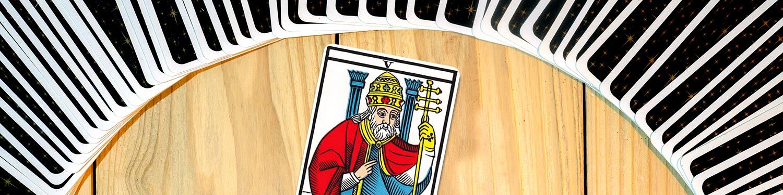 Le Pape dans le tarot de Marseille