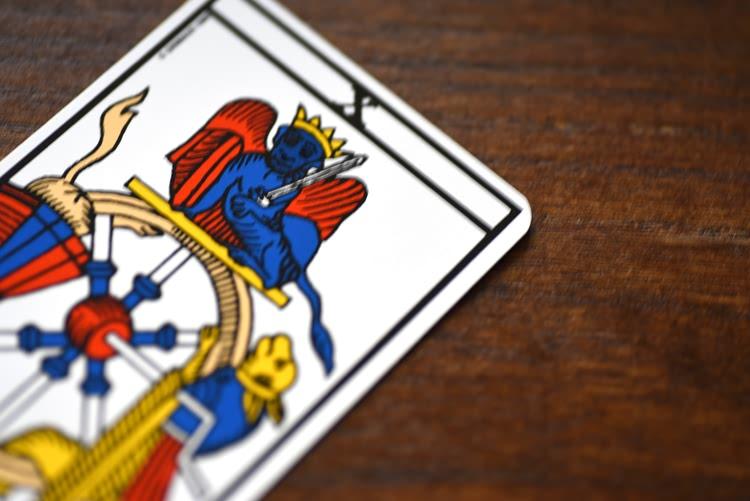 Le nombre de la carte de La Roue de Fortune