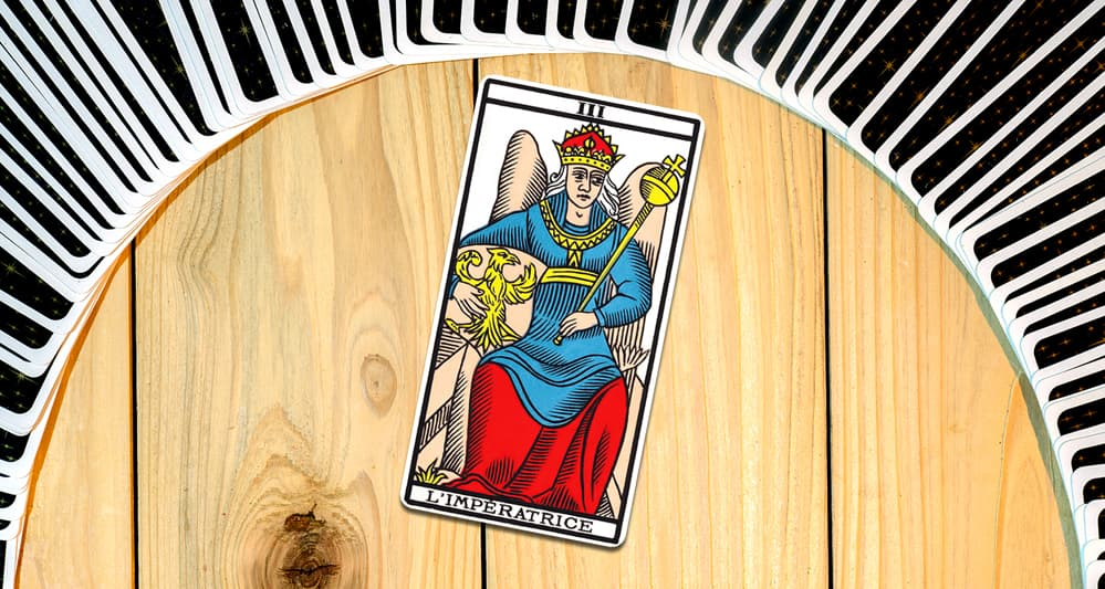 L'Imperatrice dans le tarot de Marseille
