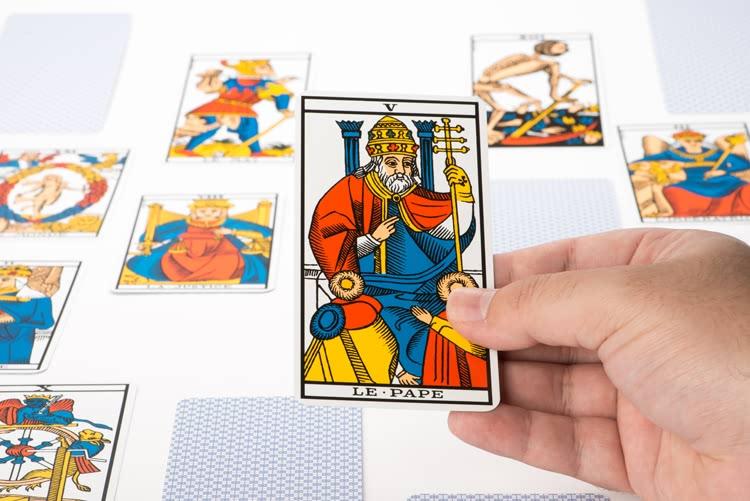 Signification de Le Pape dans le tarot