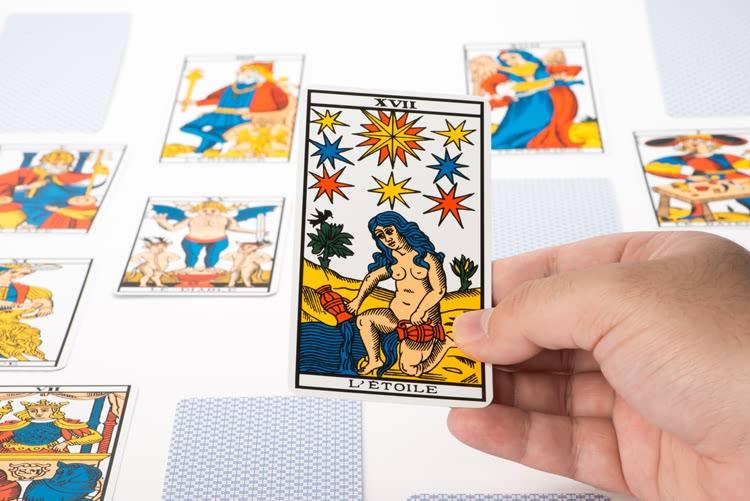 Carte de Tarot - L'Etoile