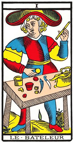 Carte de Tarot, Le Bateleur