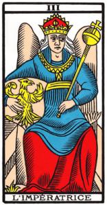 L'Impératrice dans le Tarot de Marseille