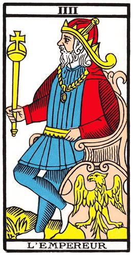 Carte de Tarot, L'Empereur