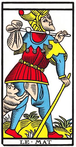 Carte de Tarot, Le Mat