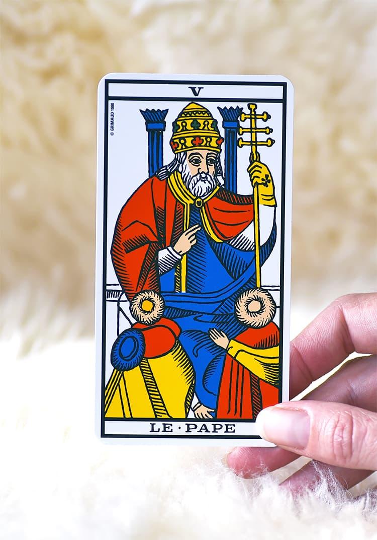 Symbolisme de Le Pape
