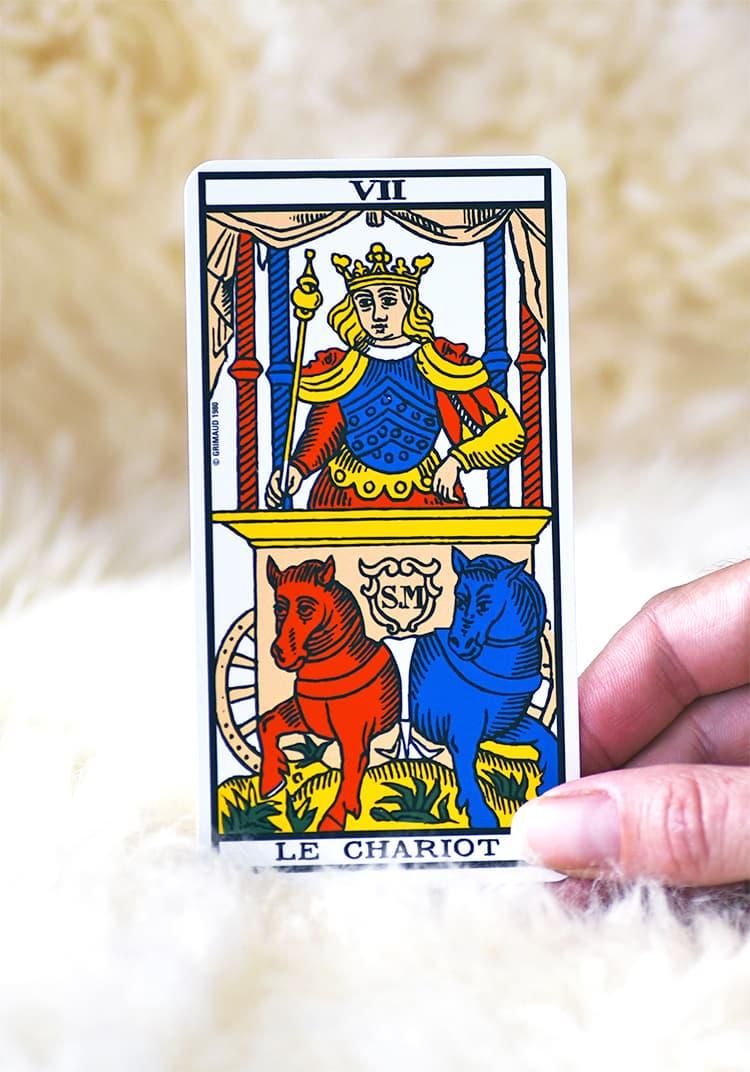 Symbolisme de Le Chariot