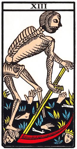 Carte de Tarot, XIII