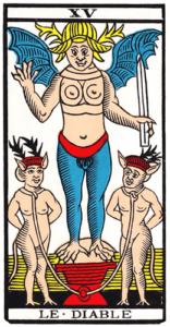 Le Diable dans le Tarot de Marseille