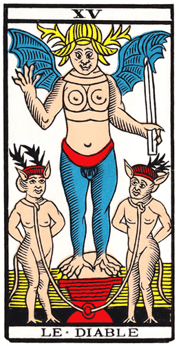 Carte de Tarot, Le Diable