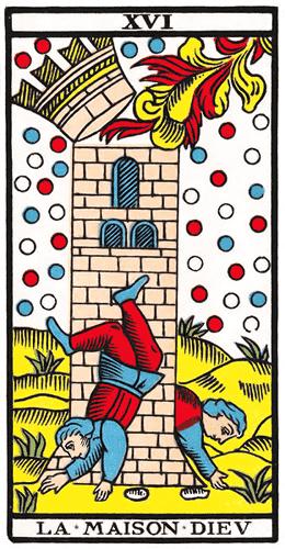 Carte de Tarot, La Maison Dieu