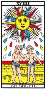 Le Soleil dans le Tarot de Marseille