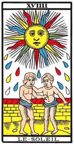 Carte de Tarot, Le Soleil
