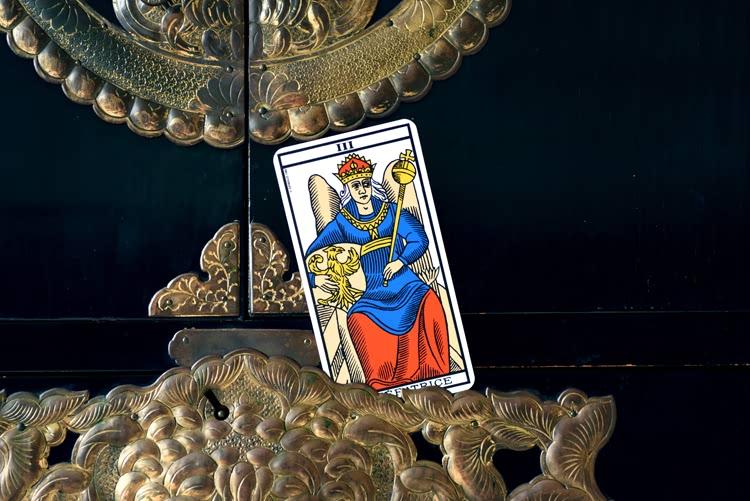 Le nom de L'Imperatrice dans le tarot