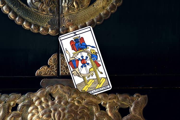 Le nom de La Roue de Fortune dans le tarot