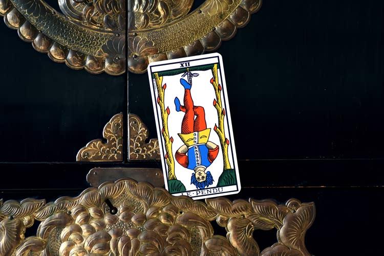 Le nom de Le Pendu dans le tarot