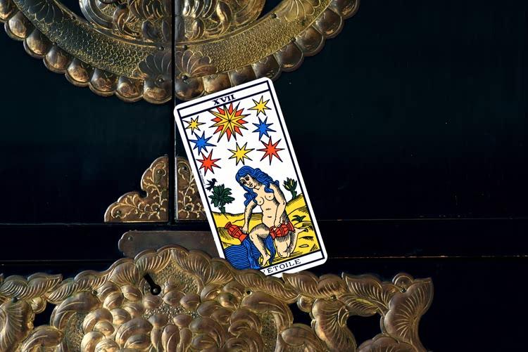 Le nom de L'Etoile dans le tarot