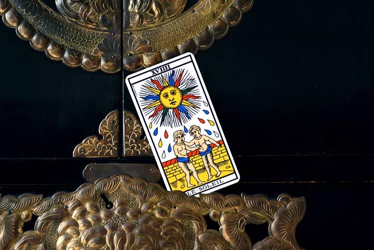 Le nom de Le Soleil dans le tarot
